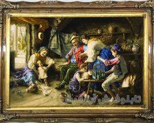 تابلو فرش دستباف کانون خانواده - کد 508