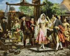 تابلو فرش دستباف مهریه عروس - کد 642
