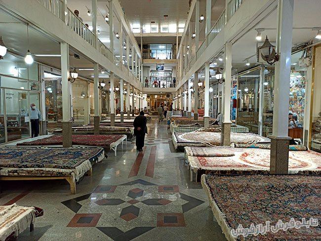 بازار فرش دستباف تبریز